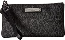 Michael michael kors barbara medium soft envelope clutch  567cecd3ae6