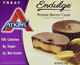 Atkins Endulge Treats, Peanut Butter Cups, 0g Sugar, 2g Net Carbs, 6-Ounce, 5 Count