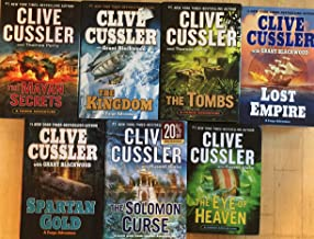Fargo Adventures Series by Clive Cussler Hardcover Set of 7 Books