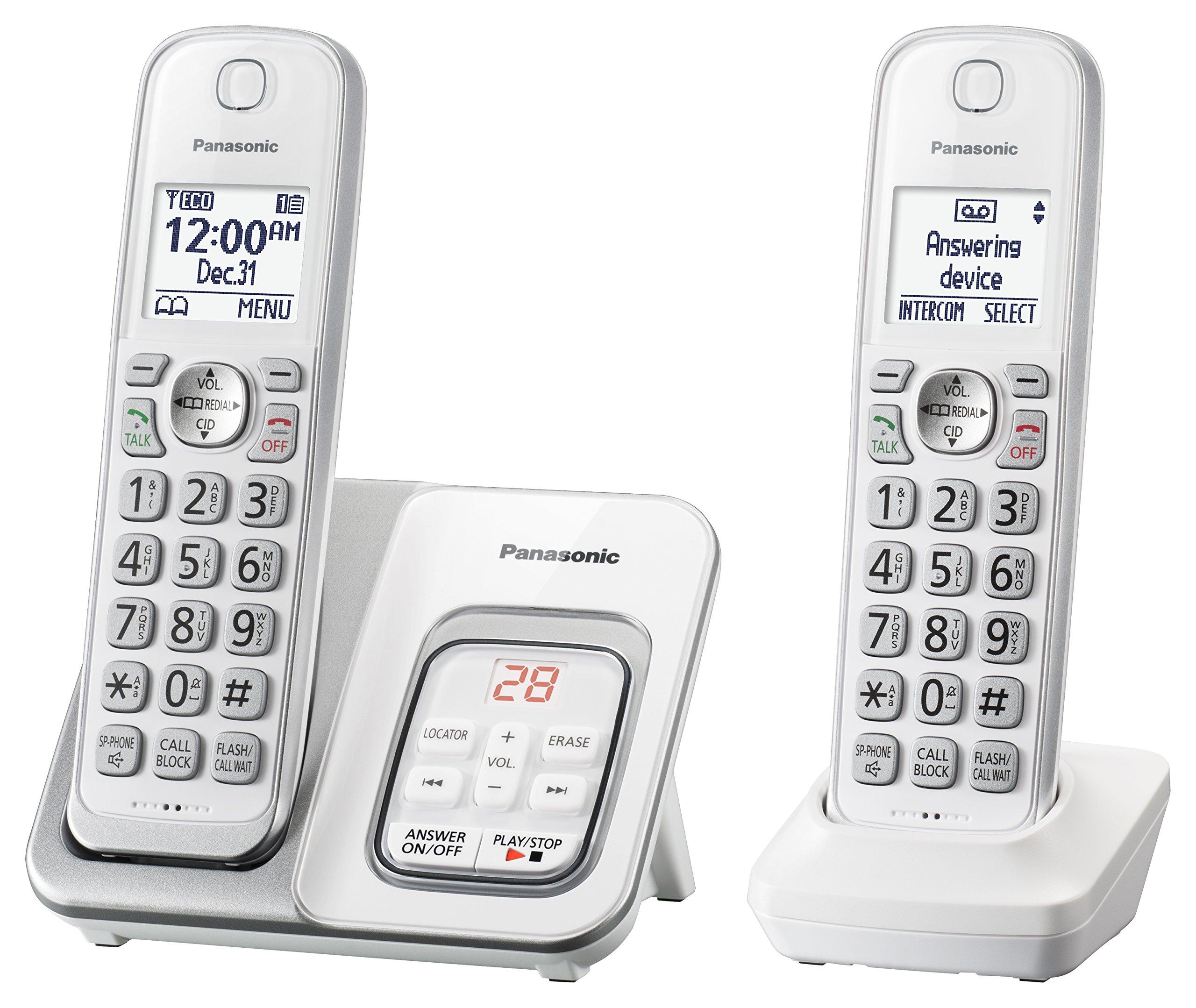 Panasonic KX TGD532W Expandable Cordless Answering