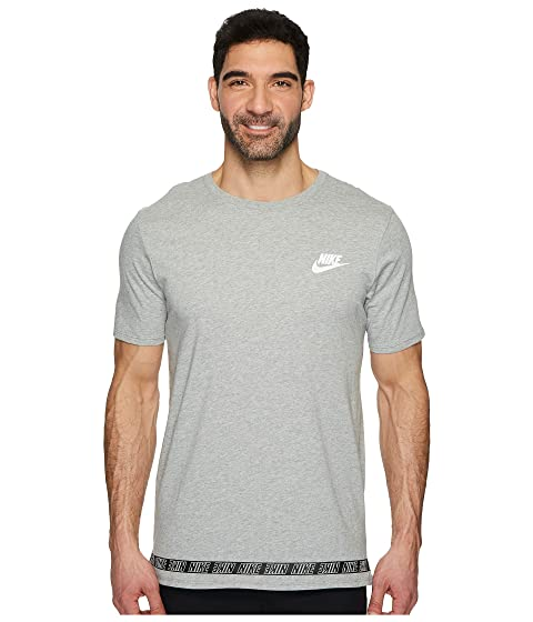 Cheap Sale Really Cheap Professional Nike Sportswear Droptail T-Shirt Dark Grey Heather/White Store Cheap Price Perfect Online rG9YP5Xou