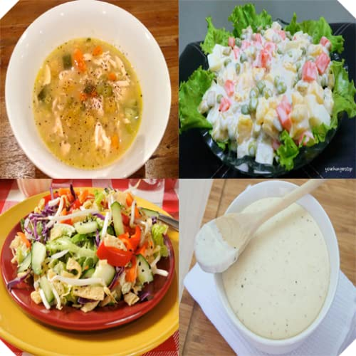 Salad Soup and Sauce Recipes