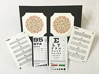 Ishihara's Book for Colour Deficiency Latest Edition 38 Plates with Pocket Eye Charts