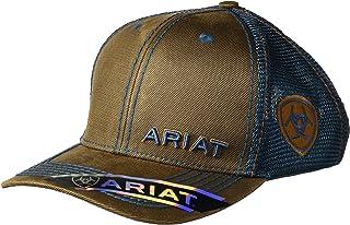 ARIAT Men's Oil Blue Mesh Cap