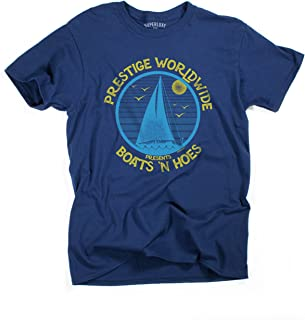 Superluxe Clothing Mens Unisex Boats N Hoes Prestige Worldwide T-Shirt