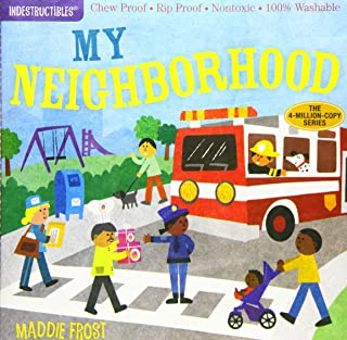 Indestructibles: My Neighborhood: Chew Proof · Rip Proof · Nontoxic · 100% Washable (Book for Babies, Newborn Books, Safe ...