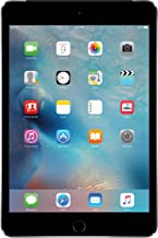 Apple iPad Mini 4, 64GB with Retina Display, Wi-Fi + Cellular, Space Gray (Renewed)