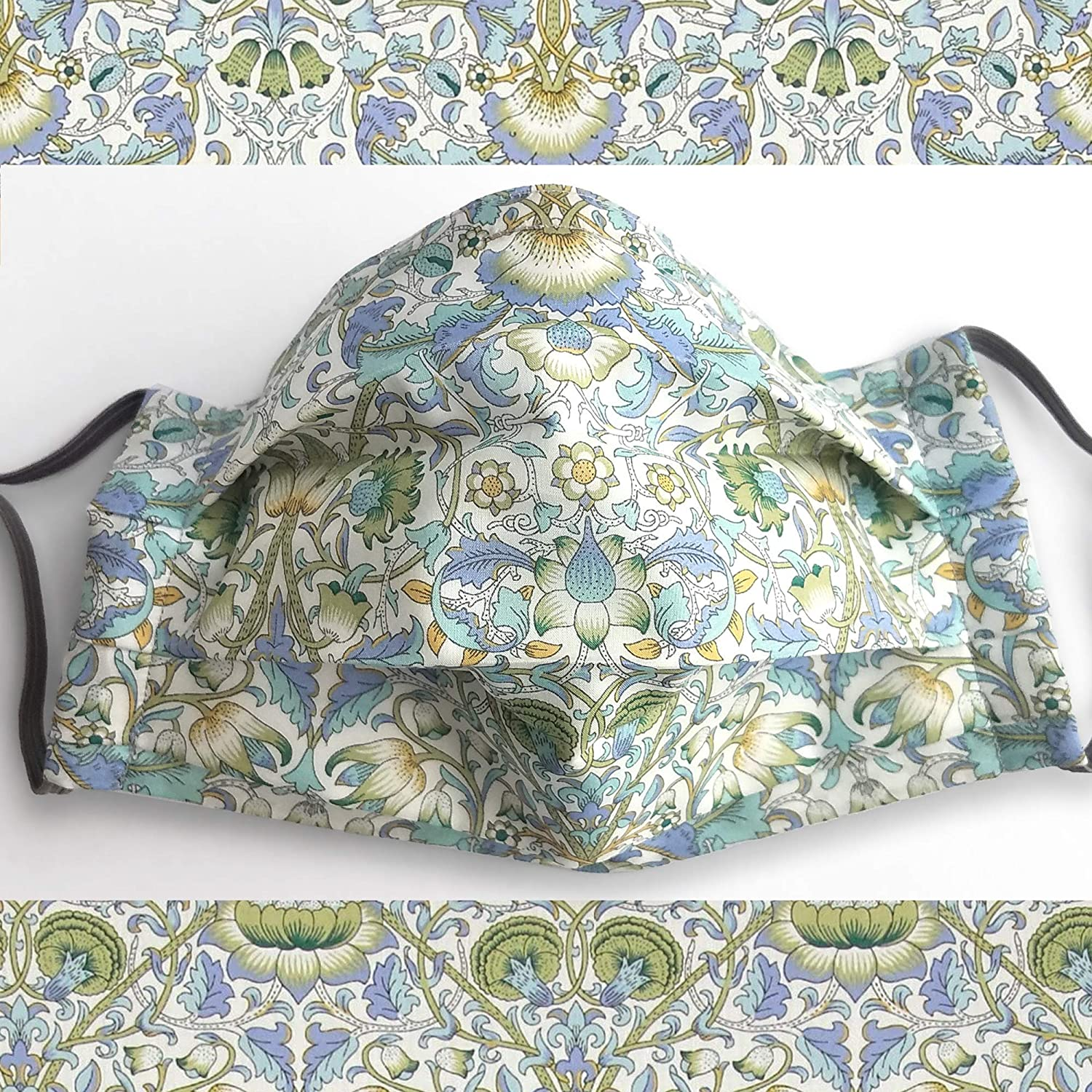 Max 42% OFF Liberty London Max 74% OFF Face Mask Lodden William Green Morris Pleated