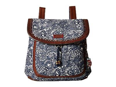 Sakroots Artist Circle Convertible Backpack (Navy Spirit Desert) Backpack Bags