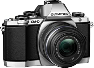 Olympus OM-D E-M10 Mirrorless Digital Camera with 14-42mm 2RK lens (Silver)
