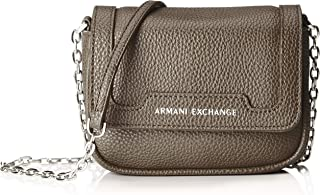 A|X Armani Exchange Chain Strap Small Crossbody Bag, Taupe 292