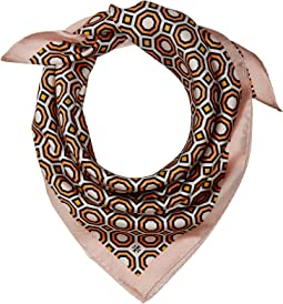 Octagon Silk Neckerchief