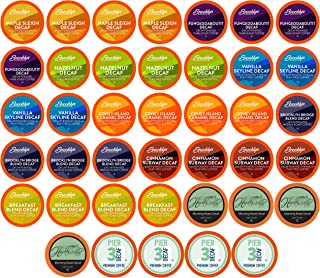 TWO RIVERS COFFEE Regular and Flavored Decaffeinated Pods Compatible with 2.0 Keurig..