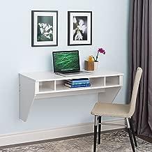 Wall Mounted Designer Floating Desk in White