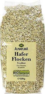 Alnatura Bio Haferflocken Feinblatt, vegan, 6er Pack 6 x 500 g