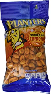 Planters Chipotle Peanuts (6 oz Bags, Pack of 12)