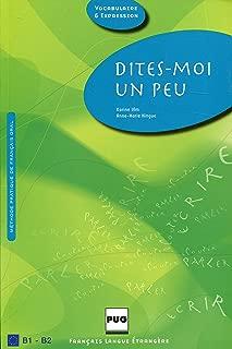 Dites-moi un peu... (French Edition)