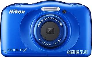 Nikon  デジタルカメラ COOLPIX W100 防水 W100BL クールピクス ブルー