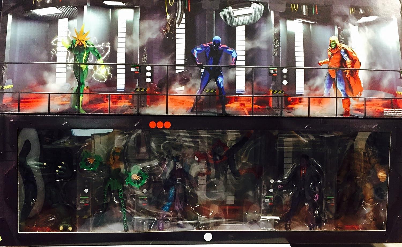 Hasbro SDCC 2016 Comic Con Exclusive Harbro Marvel Legends 6 The Raft Box Set Spider-Man