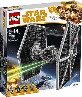 LEGO Star Wars - Le TIE Fighter impérial - 75211 - Jeu de Construction