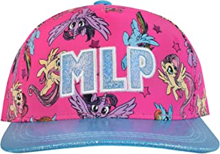 18f5cd045202f My Little Pony Girls Twilight Sparkle Fluttershy Baseball Cap One Size