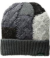 Knit Patch Cuff Cap