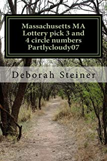Massachusetts MA Lottery pick 3 and 4 circle numbers Partlycloudy07