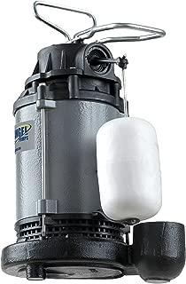 Blue Angel Pumps F50CIS 1/2 hp Heavy Duty series Submersible Cast Iron Sump Pump