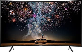 تلفزيون سامسونج الذكي 65 انش بتصميم منحني ودقة 4 كيه الترا اتش دي سيريز 7، اسود، 65RU7300