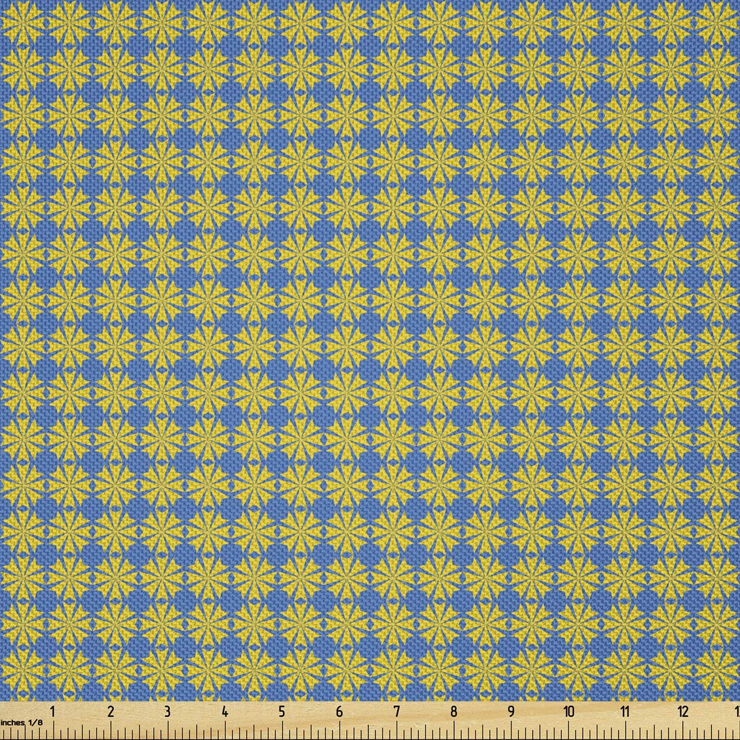 Ambesonne Abstract Fabric by Ranking TOP13 The Yard Inspired Seasonal Wrap Introduction Flowers Rhythmic