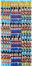 Disney Mickey Mouse Authentic Licensed 12 Wood Pencils Pack