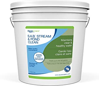 Aquascape 98896 SAB Stream & Pond Cleaner Pond Water Treatment, 7-Pound, White