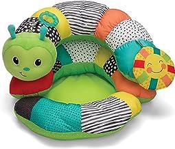 Infantino Prop-A-Pillar Tummy Time & Seated Support - Kussensteun voor pasgeboren en oudere baby's, met afneembaar steunku...