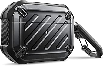 $21 » SupCase Unicorn Beetle Pro Series Case Designed for Airpods Pro, Full-Body Rugged Protective Case with Carabiner for Apple Airpods Pro (Black)
