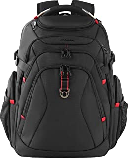 KROSER Travel Laptop Backpack 17.3 Inch XL Heavy Duty Computer Backpack with USB Charging Port RFID Pockets Water-Repellen...