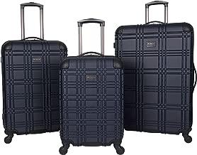 Ben Sherman Nottingham 3-Piece Lightweight Hardside 4-Wheel Spinner Travel Luggage Set:..