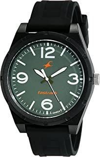 Fastrack Casual Watch for Men, Analog, Silicone, 38040PP03
