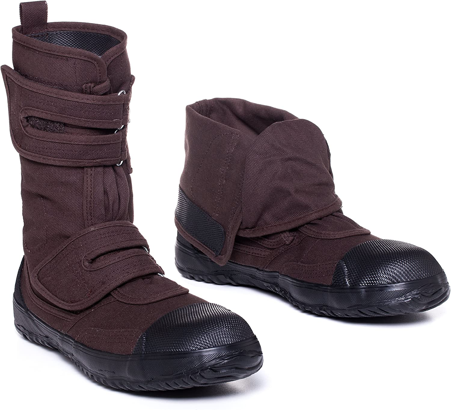 Fugu SaMe Japanese Vegan & EcoFriendly MidCalf Boots with Rubber Sole