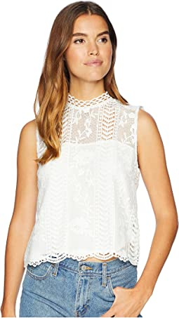 Mulholland Drive Lace Tank Top