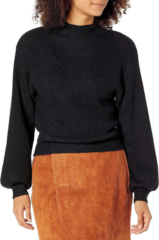 BB Dakota by Steve Madden Women's Mock of Ages Sweater