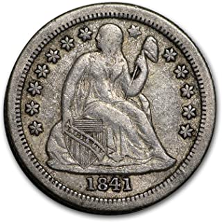 1841 O Liberty Seated Dime VF Dime Very Fine