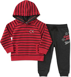 Baby Boys' 2 Pc French Terry Hoodie Sets