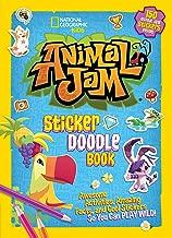 ملصق حيوانات Jam Doodle كتاب