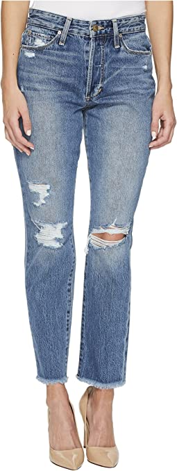 The High-Rise Smith Ankle Jeans in Caryn