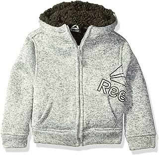 Reebok Boys' Active Sweater Fleece Sherpa Jacket