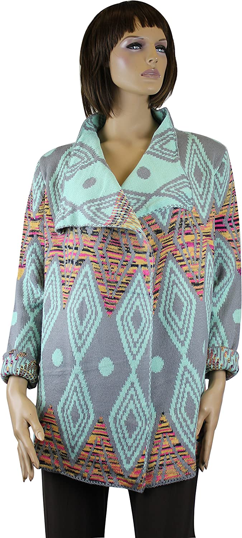 Helen's Aztec Style Sweater Jacket