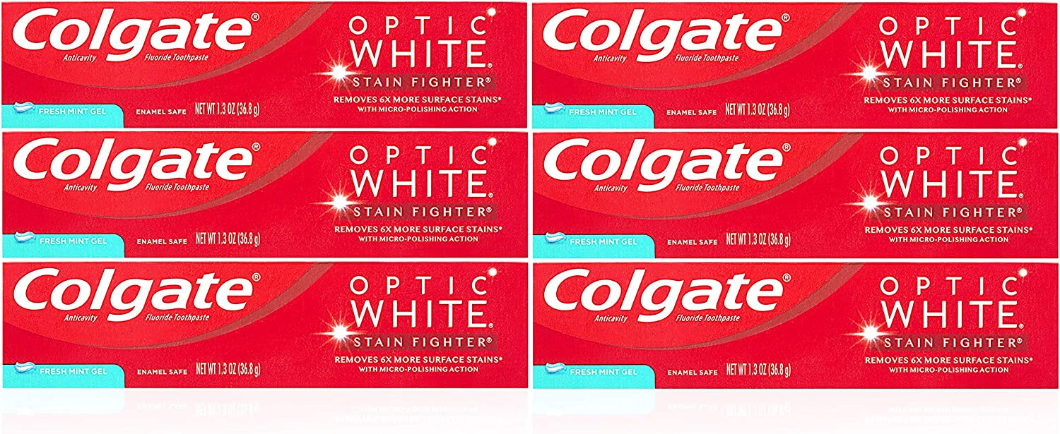 Colgate Challenge Inexpensive the lowest price of Japan Optic White Teeth Whitening Toothpaste F Stain Fighter
