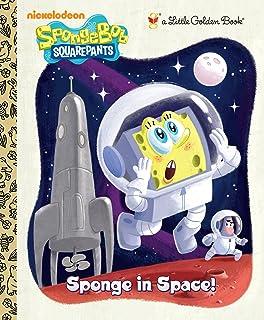 Sponge in Space! (Little Golden Books)