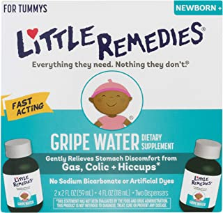 Little Remedies Gripe Water, Safe for Newborns, 2 Fl Oz, Pack of 2