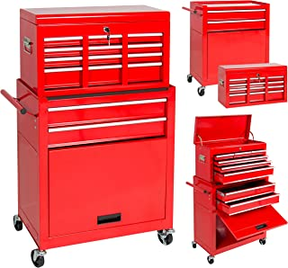 Best Choice Products Portable Top Chest Rolling Tool Storage Box Cabinet  Sliding Drawers 5ae0b6d16e